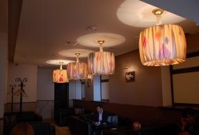 дизайнерские люстры для кафе